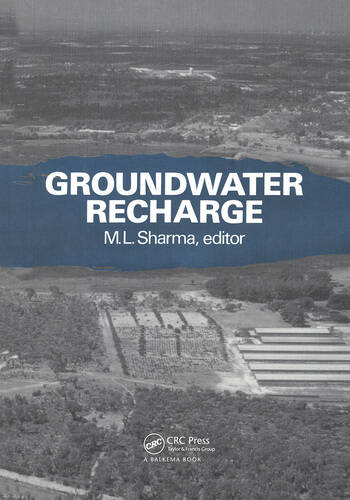 Groundwater Recharge Proceedings of a symposium, Perth, 6-9 July 1987 book cover