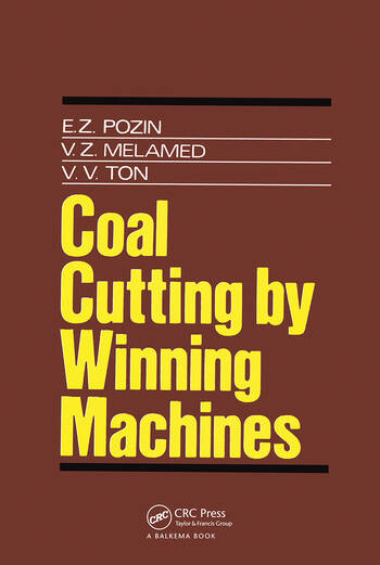 Coal Cutting by Winning Machines book cover