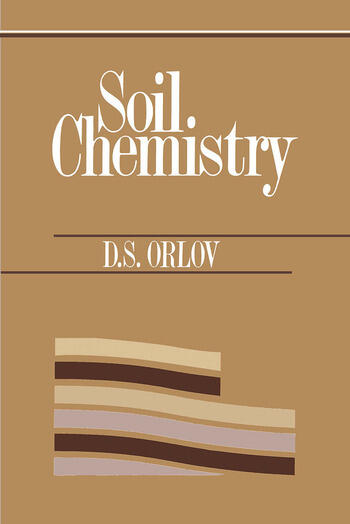 Soil Chemistry Russian Translation Series 92 book cover