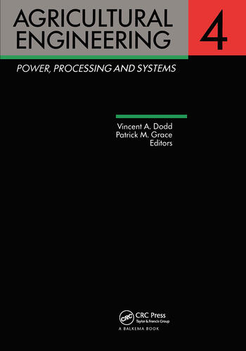 Agricultural Engineering, Volume 4: Power, processing and systems Proceedings of the Eleventh International Congress on Agricultural Engineering, Dublin, 4-8 September 1989 book cover