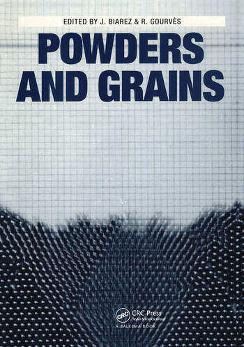 Powder and Grains Proceedings of an international congress on micromechanics of granular media, Clermont-Ferrand, 4-8 September 1989 book cover