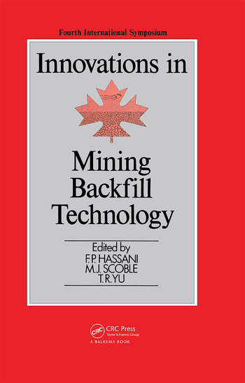 Innovations in Mining Backfill Technology book cover