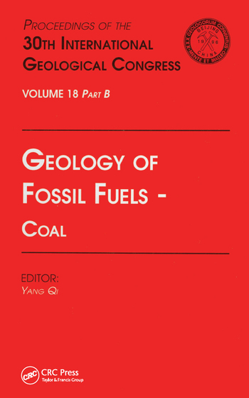 Geology of Fossil Fuels --- Coal Proceedings of the 30th International Geological Congress, Volume 18 Part B book cover