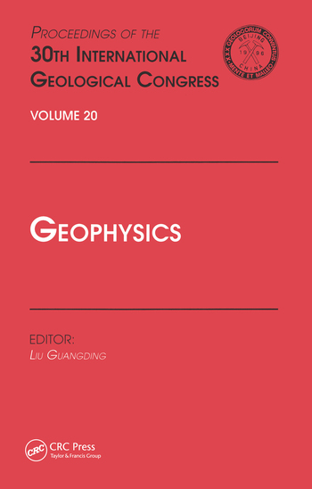 Geophysics Proceedings of the 30th International Geological Congress, Volume 20 book cover
