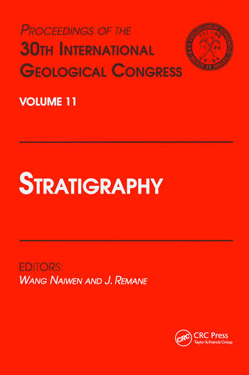 Stratigraphy Proceedings of the 30th International Geological Congress, Volume 11 book cover