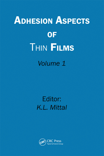 Adhesion Aspects of Thin Films, Volume 1 book cover