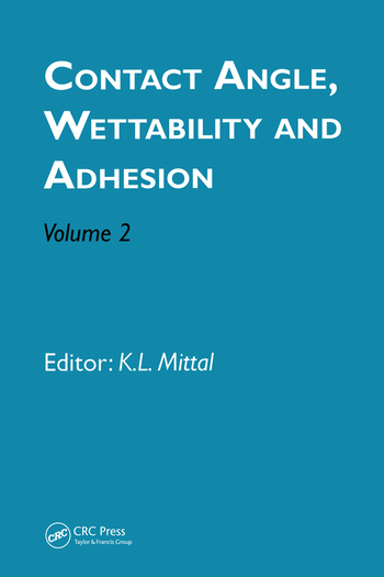 Contact Angle, Wettability and Adhesion, Volume 2 book cover
