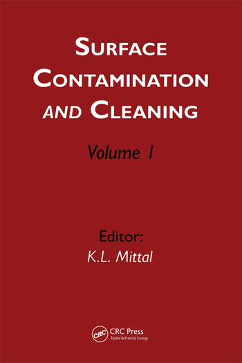 Surface Contamination and Cleaning Volume 1 book cover
