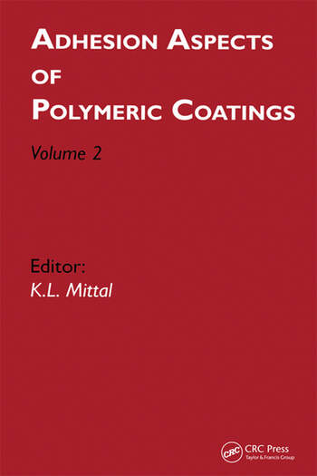 Adhesion Aspects of Polymeric Coatings Volume 2 book cover