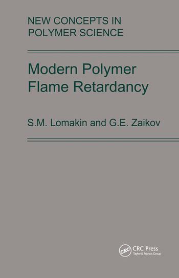 Modern Polymer Flame Retardancy book cover