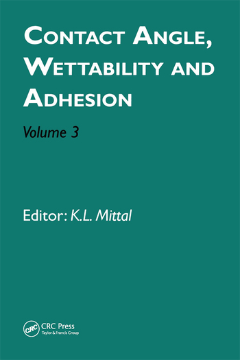 Contact Angle, Wettability and Adhesion, Volume 3 book cover
