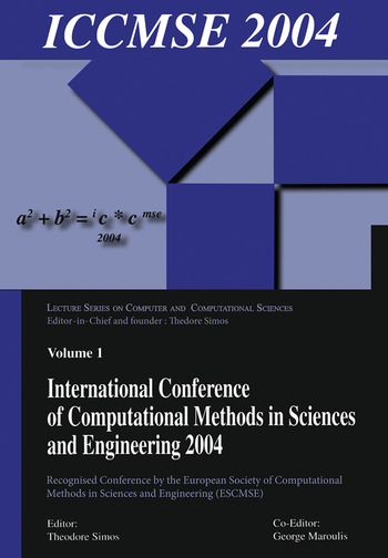 International Conference of Computational Methods in Sciences and Engineering (ICCMSE 2004) book cover