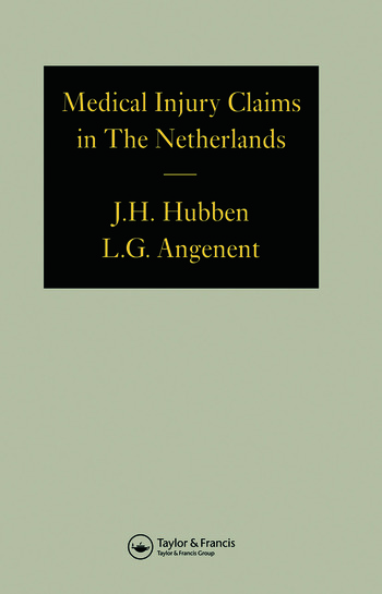 Medical Injury Claims in the Netherlands 1980-1990 book cover