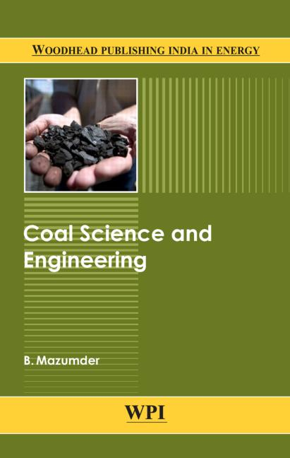 Coal Science and Engineering book cover