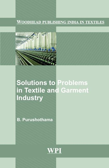 Solutions to Problems in Textile and Garment Industry book cover