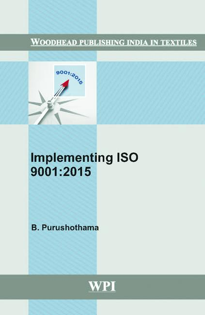 Implementing ISO 9001:2015 book cover