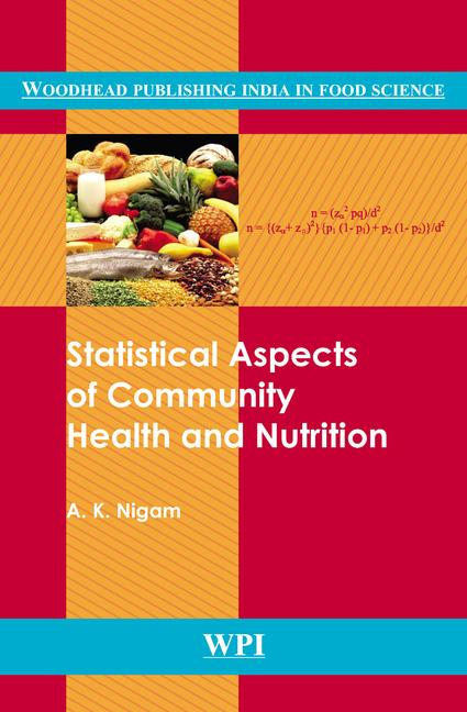 Statistical Aspects of Community Health and Nutrition book cover