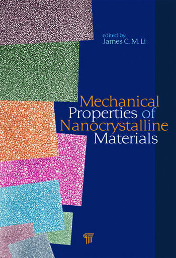 Mechanical Properties of Nanocrystalline Materials book cover