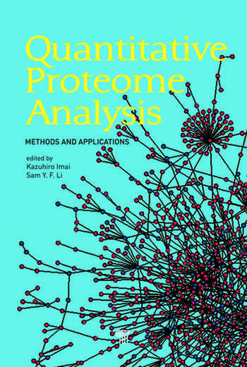 Quantitative Proteome Analysis Methods and Applications book cover