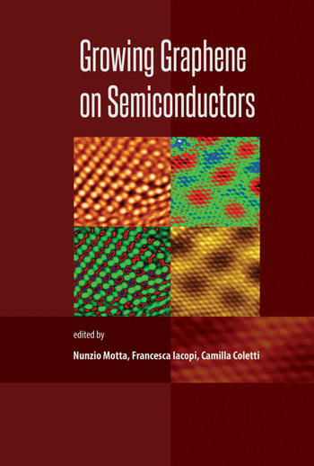 Growing Graphene on Semiconductors book cover