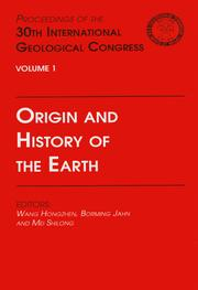 Origin and History of the Earth