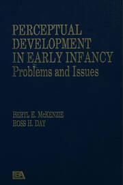 Perceptual Development in Early Infancy