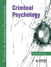 Criminal Psychology: Topics in Applied Psychology