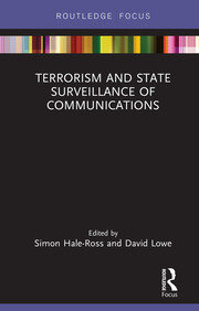 Featured Title - Terrorism and State Surveillance of Communications Hale Ross - 1st Edition book cover