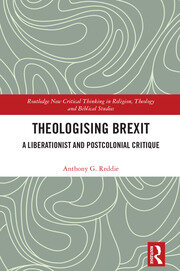 Featured Title - Theologising Brexit: Reddie - 1st Edition book cover