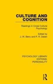 G. Jahoda (1970): Supernatural beliefs and changing cognitive structures among Ghanaian university students                            1