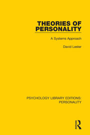 Theories of Personality: A Systems Approach
