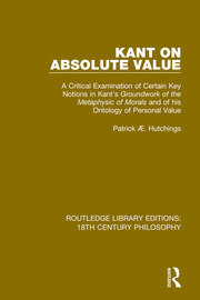Kant, Harris And The Absolute Value