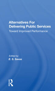 Alternatives for Delivering Public Services