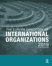 The Europa Directory of International Organizations 2019