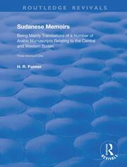 Sudanese Memoirs