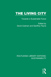 The Living City: Towards a Sustainable Future
