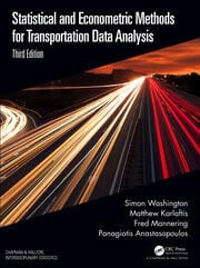 Statistical and Econometric Methods for Transportation Data Analysis