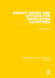 Energy Issues and Options for Developing Countries