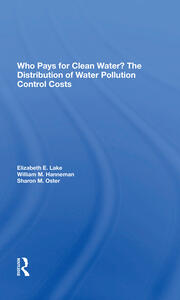 Who Pays For Clean Water?