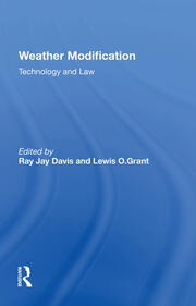 Will Weather Modification Activities Increase? An Agricultural Perspective