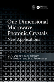 One-Dimensional Microwave Photonic Crystals: New Applications