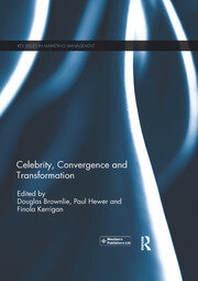 The production and consumption activities relating to the celebrity artist