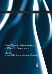 From Olympic Administration to Olympic Governance