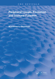 Peripheral Lymph: Formation and Immune Function