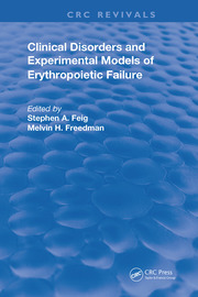 Clinical Disorders and Experimental Models of Erythropoietic Failure