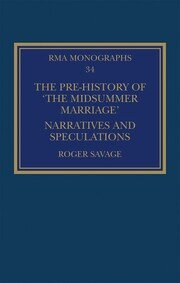 The Pre-history of 'The Midsummer Marriage': Narratives and Speculations