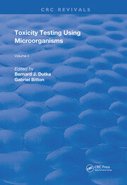 Toxicity Testing Using Microorganisms