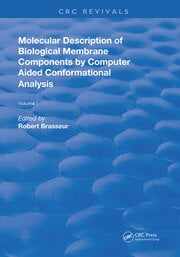 AMolecular Description of Biological Membrane Components by Computer Aided Conformational Analysis