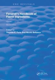 Fenaroli's Handbook of Flavor Ingredients: Volume 2