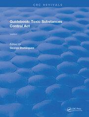 Guidebook: Toxic Substances Control Act